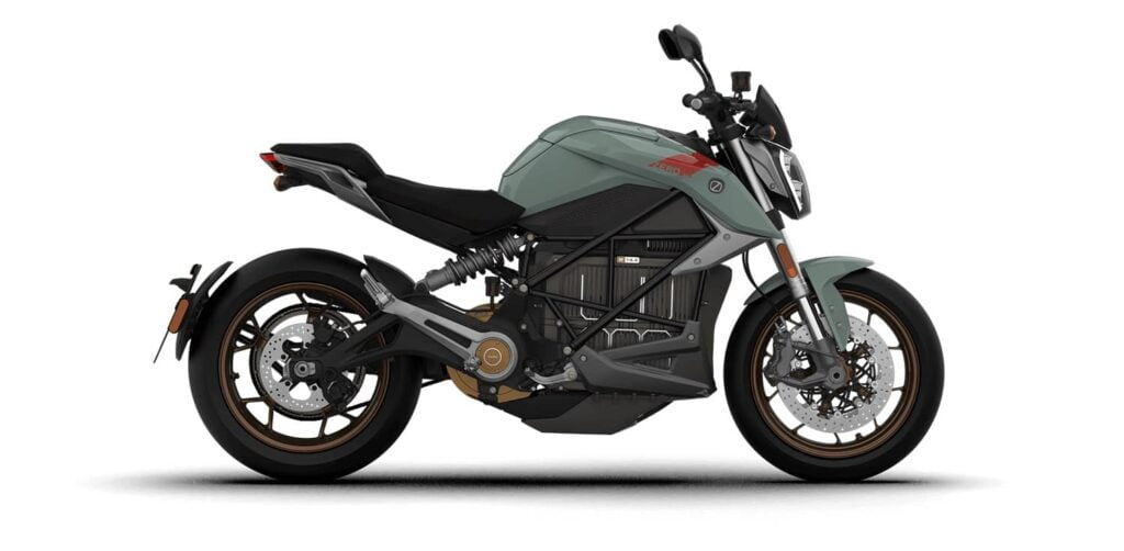 The Zero SR/F - like an electric Ducati Monster, and one of the fastest electric motorcycles in the world.