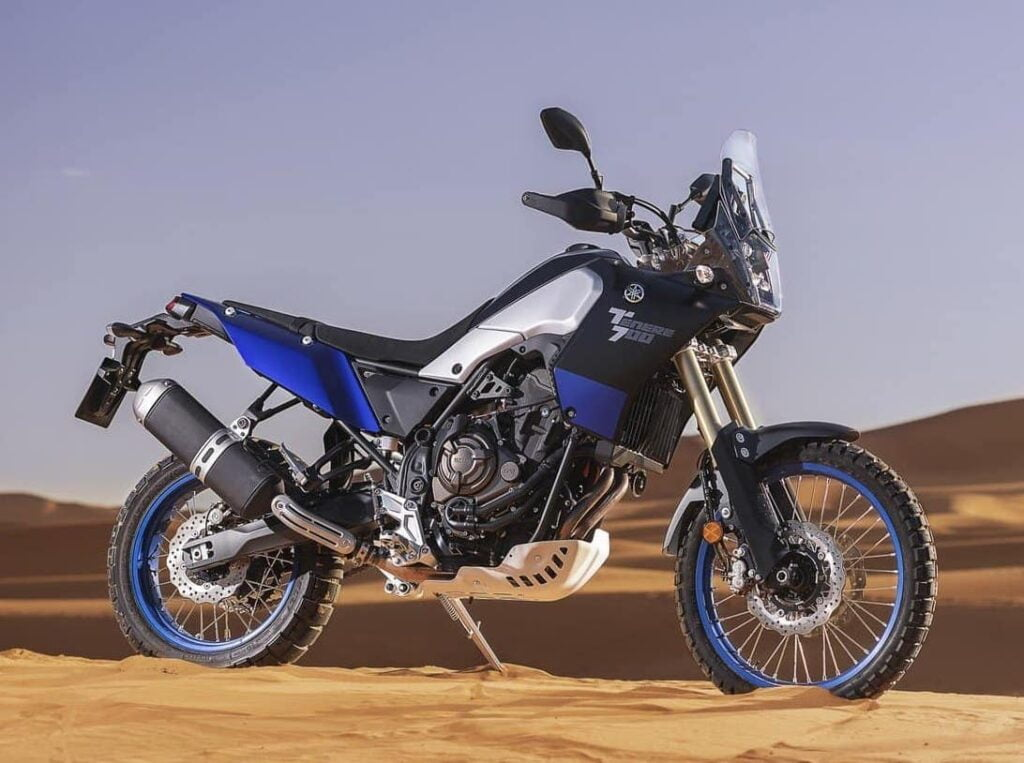 Yamaha Tenere 700 - a great looking adventure bike released in 2020