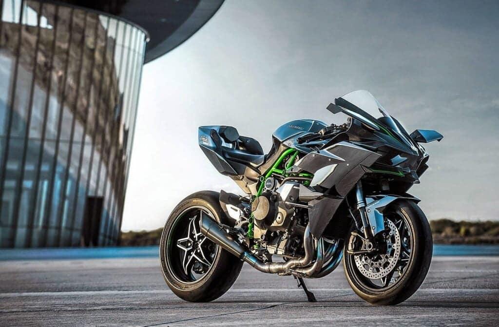 Kawasaki H2R, a stunning 2020 motorcycle