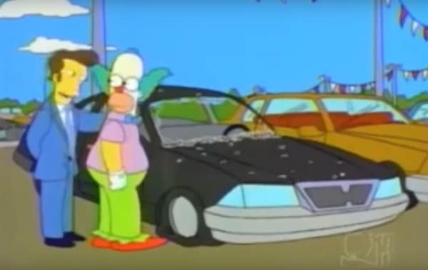 Speed holes make the car go faster (Krusty in the Simpsons)