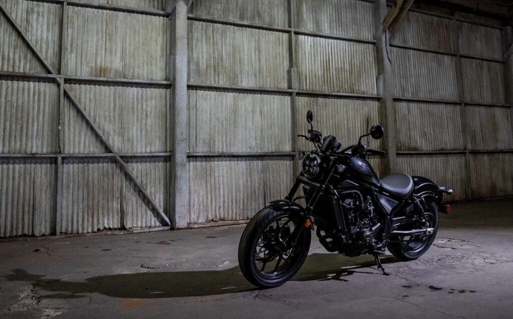 Honda rebel 1100 cruiser with cornering ABS