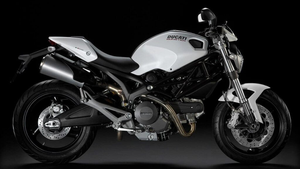 The Ducati Monster 696, small but a great second-hand model
