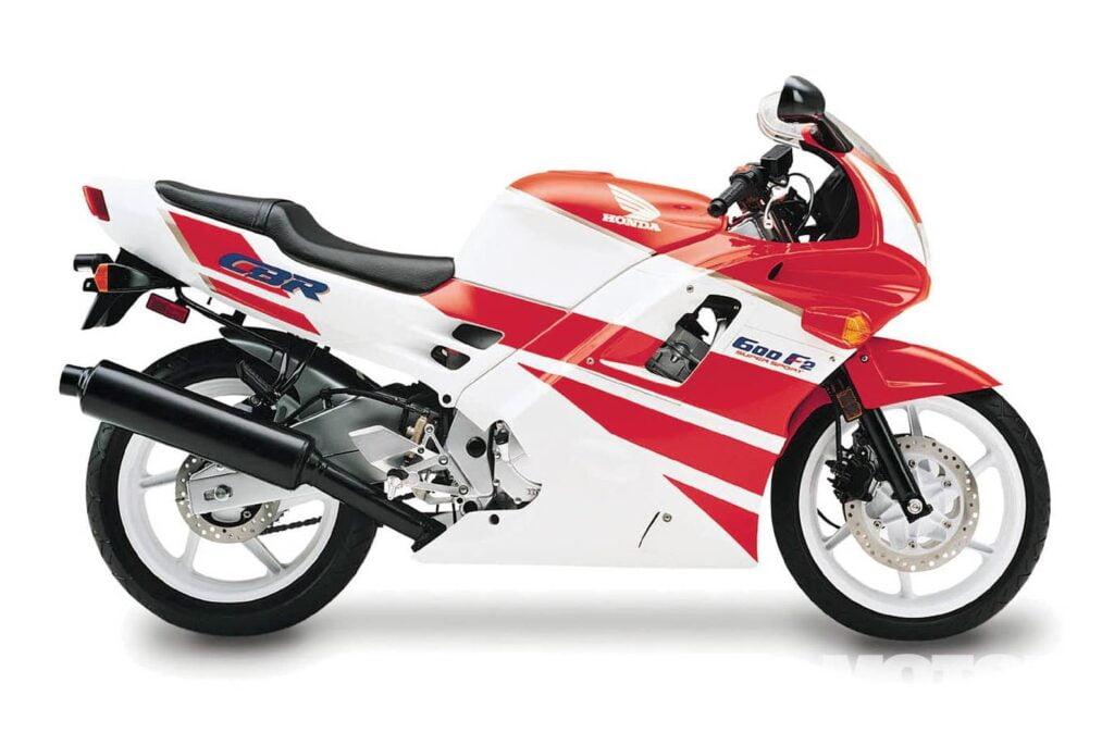 The second-generation Honda CBR600F2 - better to buy used (but hard)