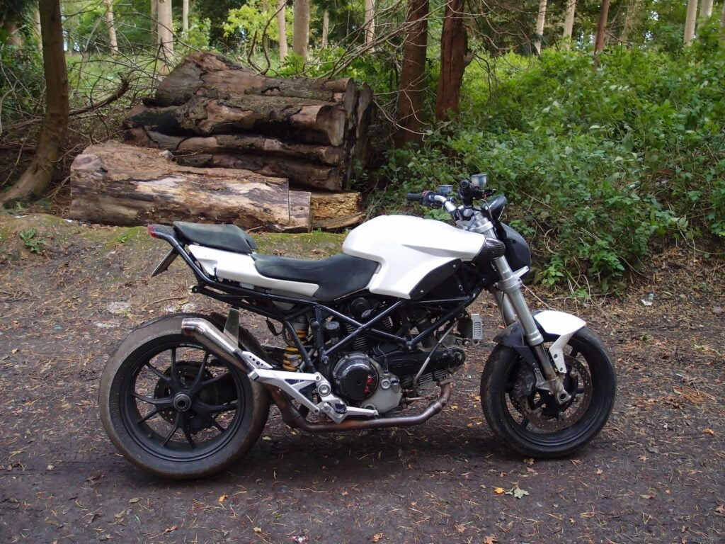 Inspiration for my naked Ducati Multistrada build