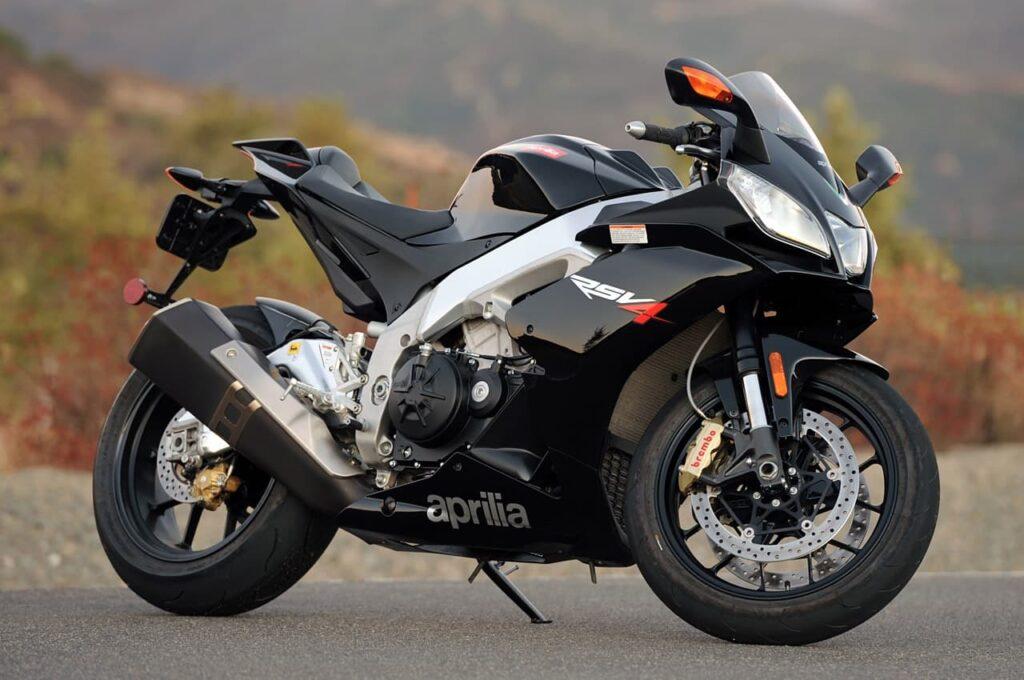 2010 Aprilia RSV4R V4 motorcycle
