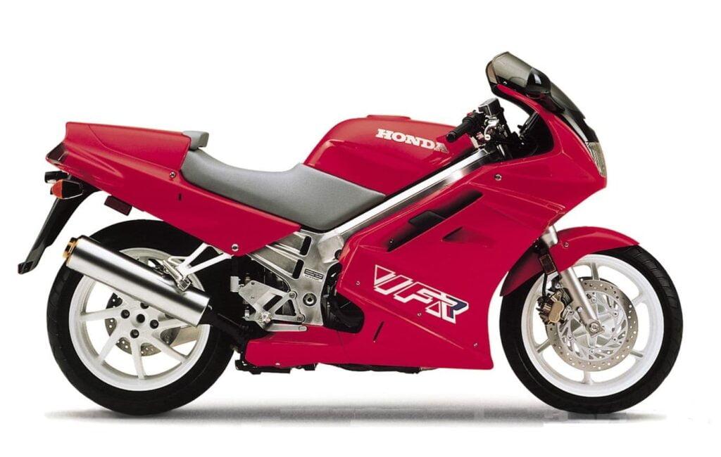 1990 Honda 3rd Gen VFR VFR750 Red