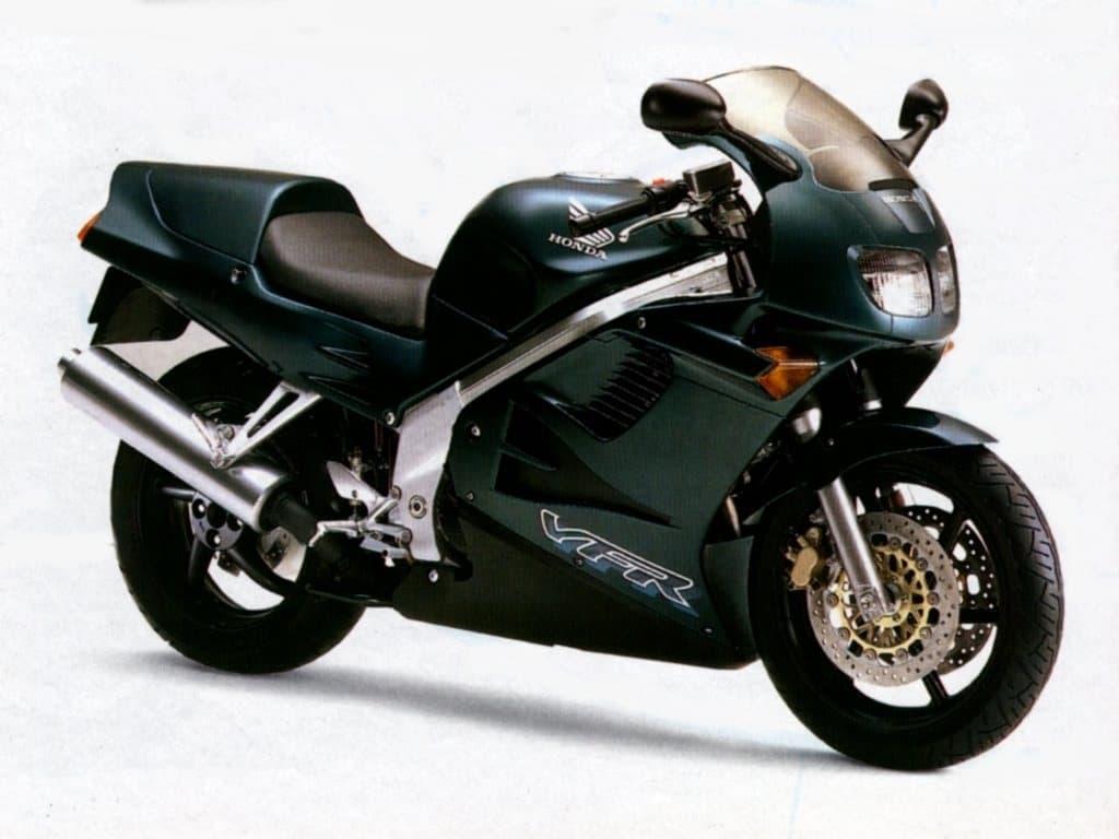 1994 green 4th gen Honda VFR750