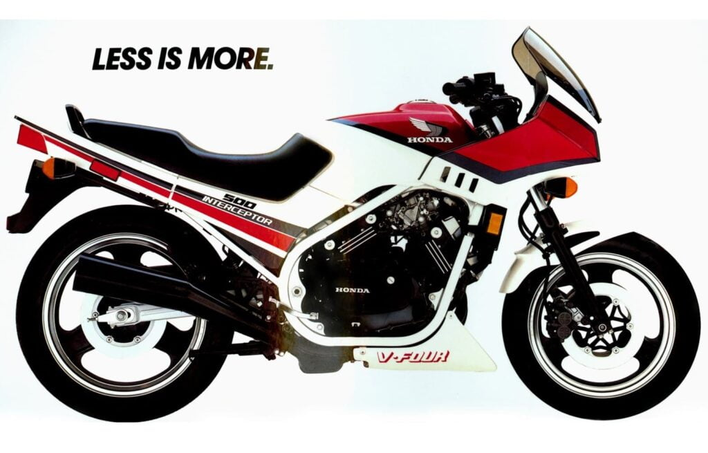 Honda VF500 Interceptor V4 1st gen VFR