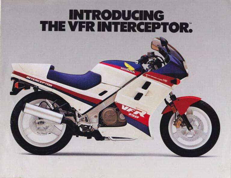 Honda VFR Generations (VFR750, VFR800) Explained Briefly