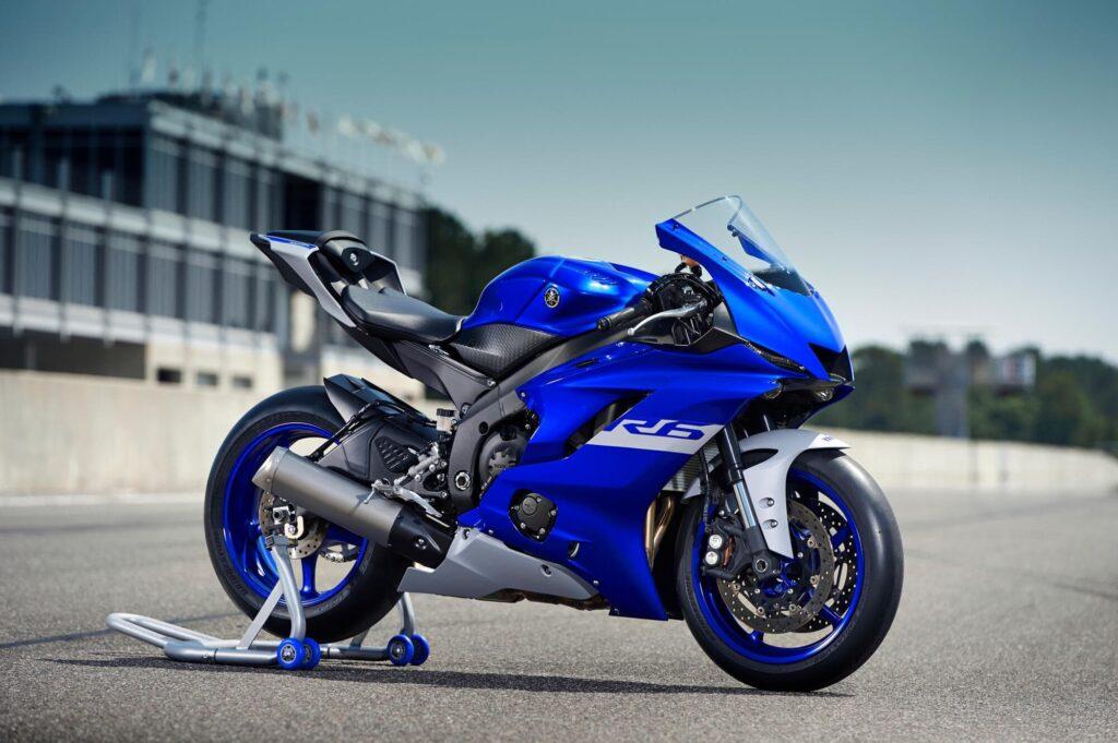 Yamaha YZF-R6, a 600cc sportbike from 2020