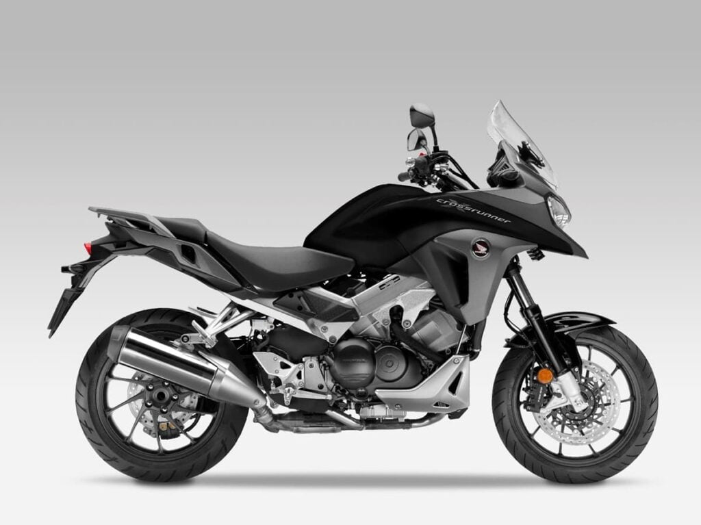Black Honda VFR800X 2015 side profile