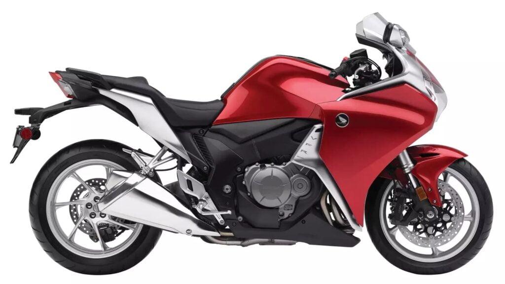 Red Honda VFR1200F 7th Gen VFR