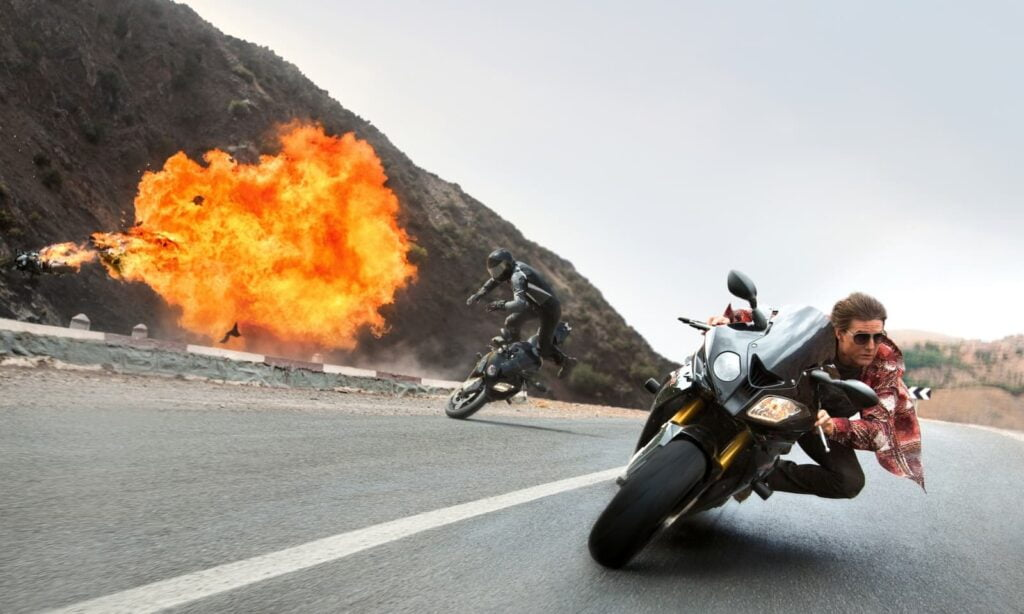 Tom cruise S1000RR mission impossible