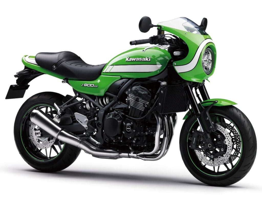 2018 Kawasaki Z900RS Vintage Lime Green