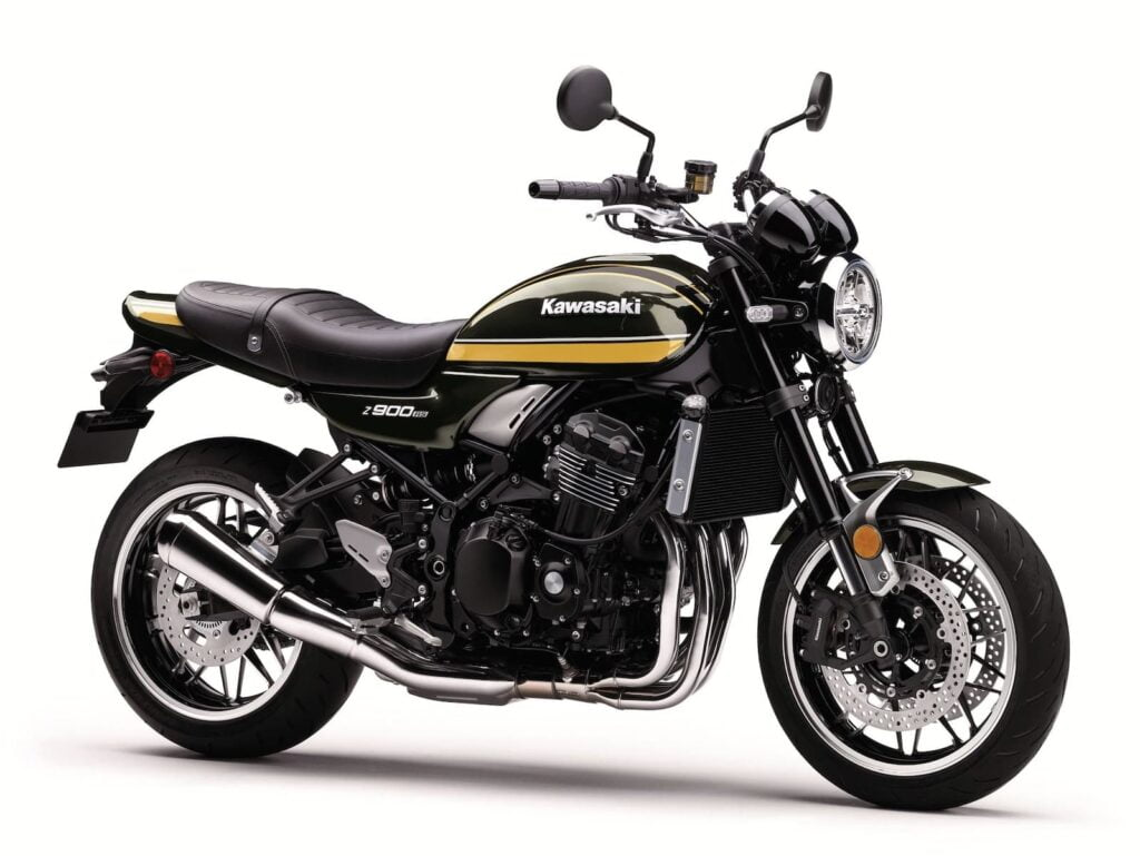 2020 Kawasaki Z900RS New Metallic Green (Black and yellow)