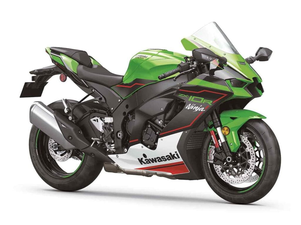 2021 Kawasaki Ninja XZ-10R with cruise control and cornering ABS — KRT edition