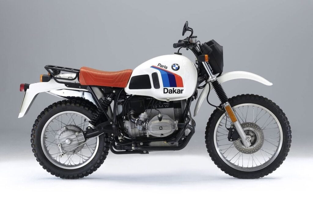BMW R80 G/S inspiration for the R nineT Urban G/S