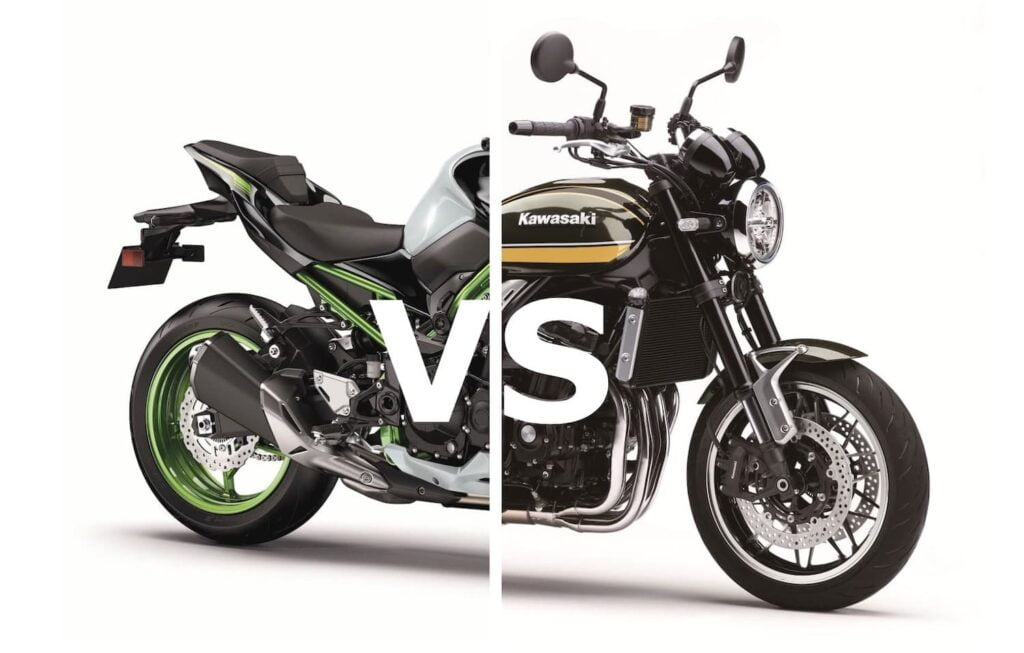 Kawasaki Z900 and Z900RS — Differences