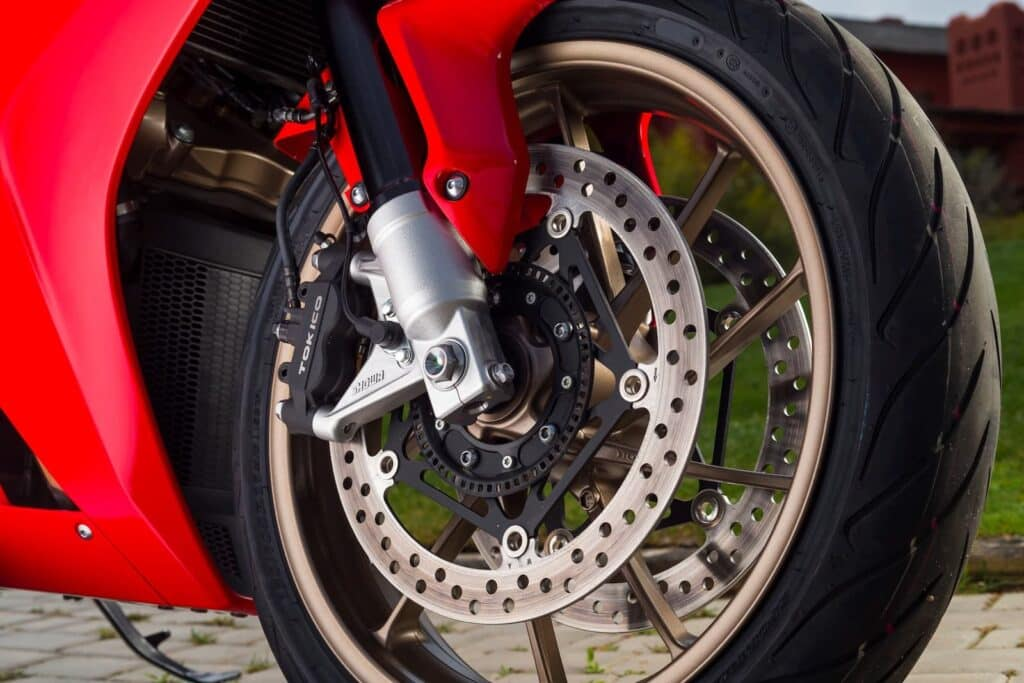 VFR800 8th gen deluxe front wheel ABS ring