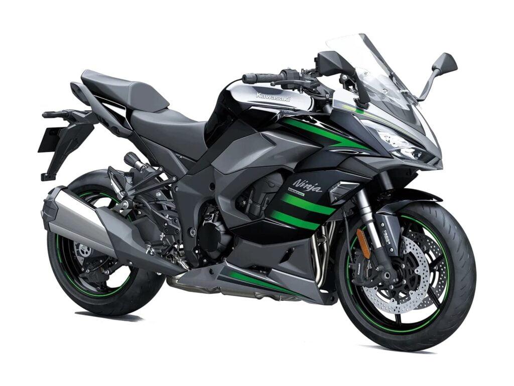 2021 Kawasaki Ninja 1000 black and green