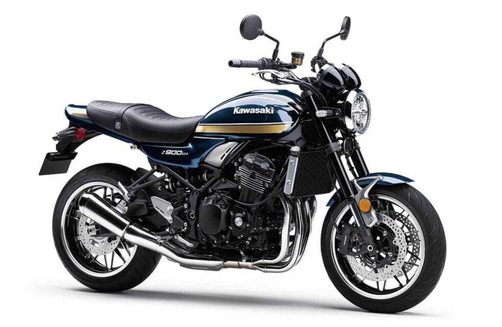 2022 Kawasaki Z900RS Cafe Candytone Blue