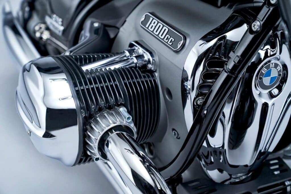 air cooling on bmw r 18 motorcycle