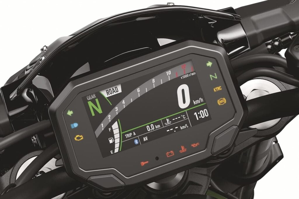 2020+ Kawasaki Z900 TFT display
