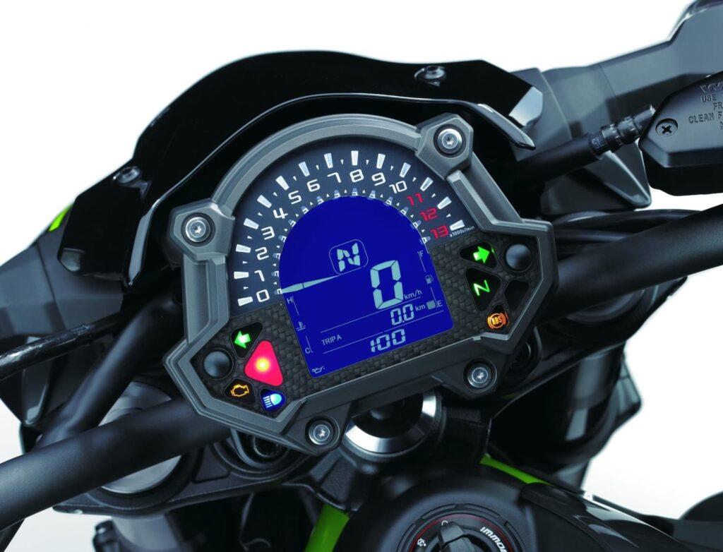 Kawasaki Z900 tachometer dash display (2017-2019)