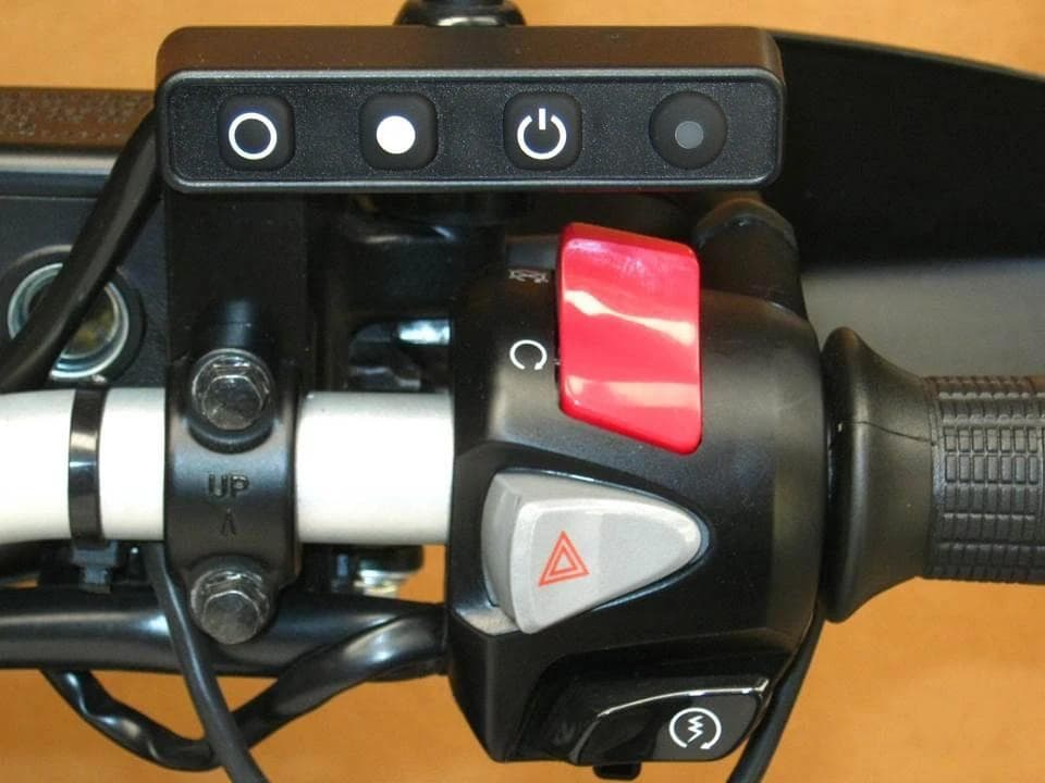 MCCruise motorcycle cruise control —new 2020 switch button block