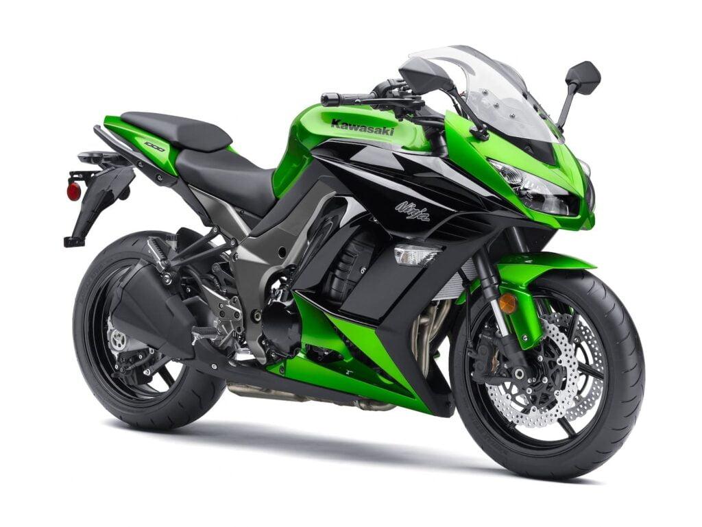 2011 Kawasaki Ninja 1000SX Green