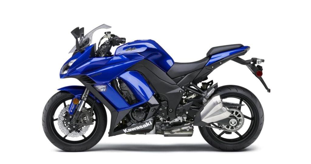 2014 blue Kawasaki Ninja 1000 ABS