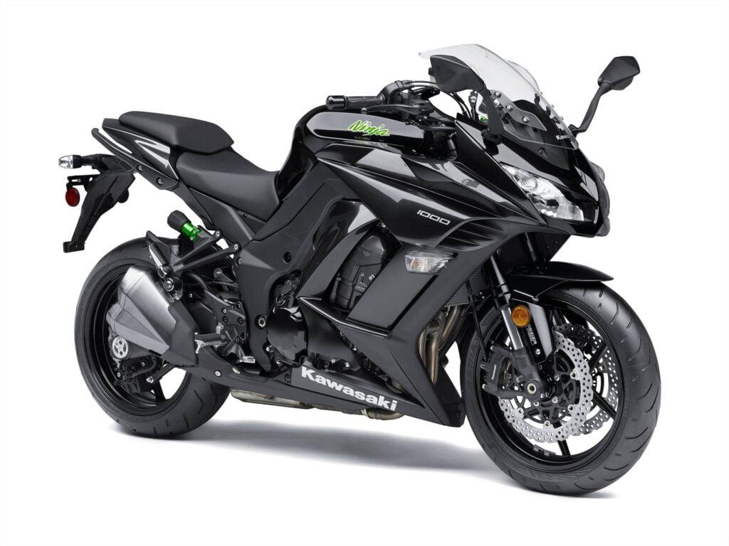 2015 Kawasaki Ninja 1000 ABS Z1000SX Black diagonal view