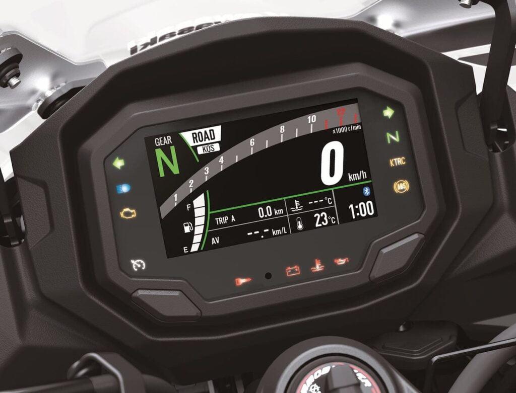 2020 Ninja 1000 SX display