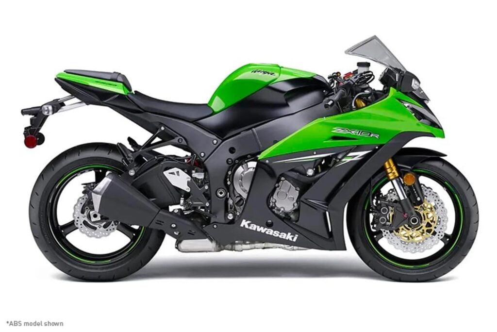 Green 2014 Kawasaki Ninja 1000 Z1000SX ABS