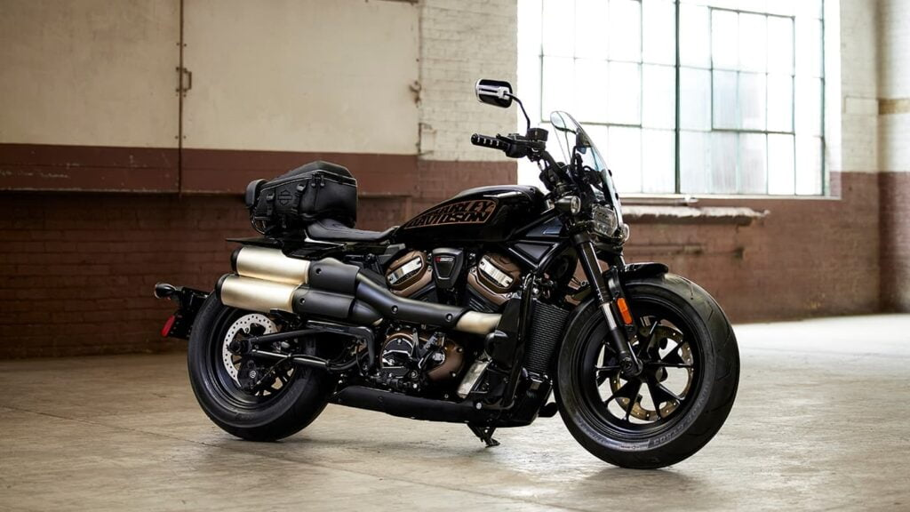 2021 Sportster S with customisation options