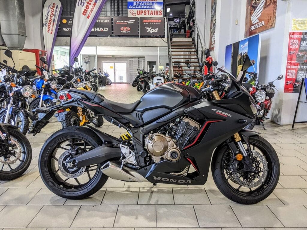 Honda CBR650R at Brisbane Motorcycles