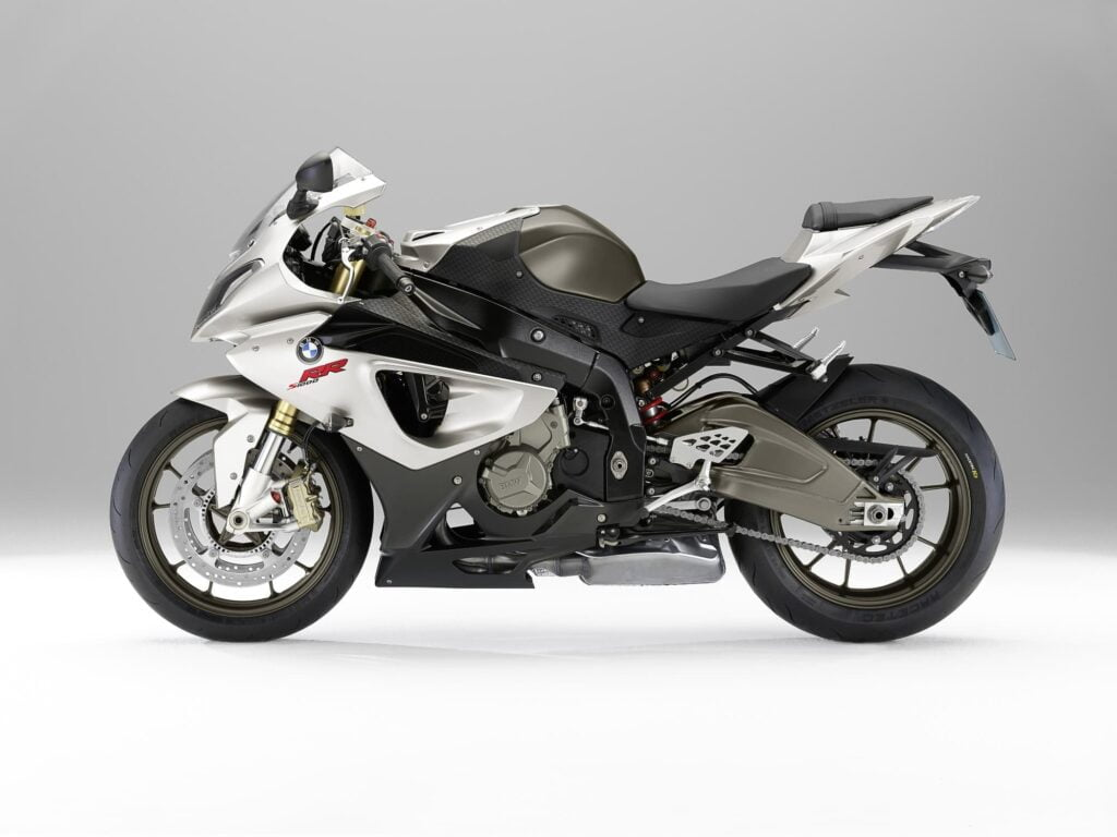 2009 2010 2011 BMW S 1000 RR black and white LHS