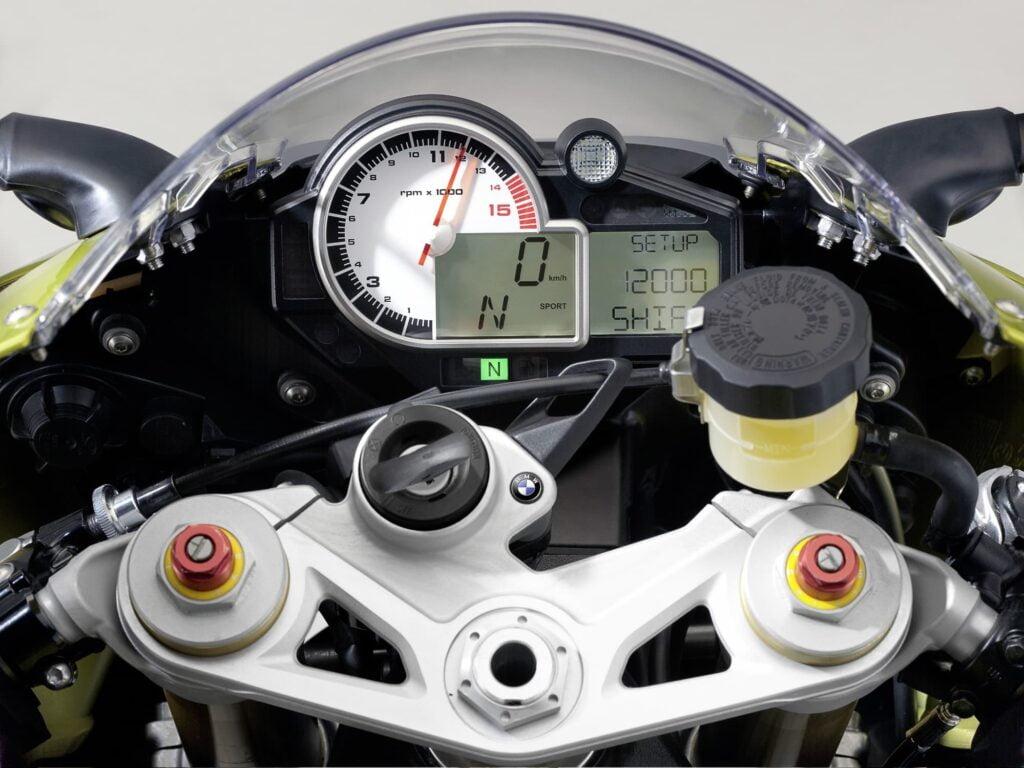 2009 2010 2011 BMW S 1000 RR instrument gauge cluster