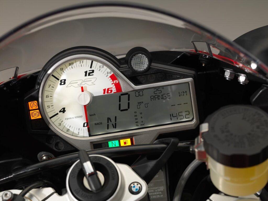 2015 2016 2017 BMW S 1000 RR instrument cluster tachometer