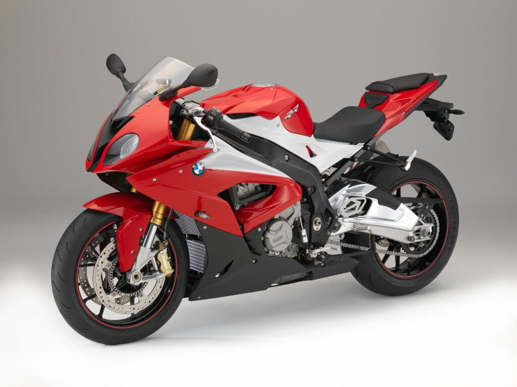 2016 2017 BMW S 1000 RR Red right diagonal