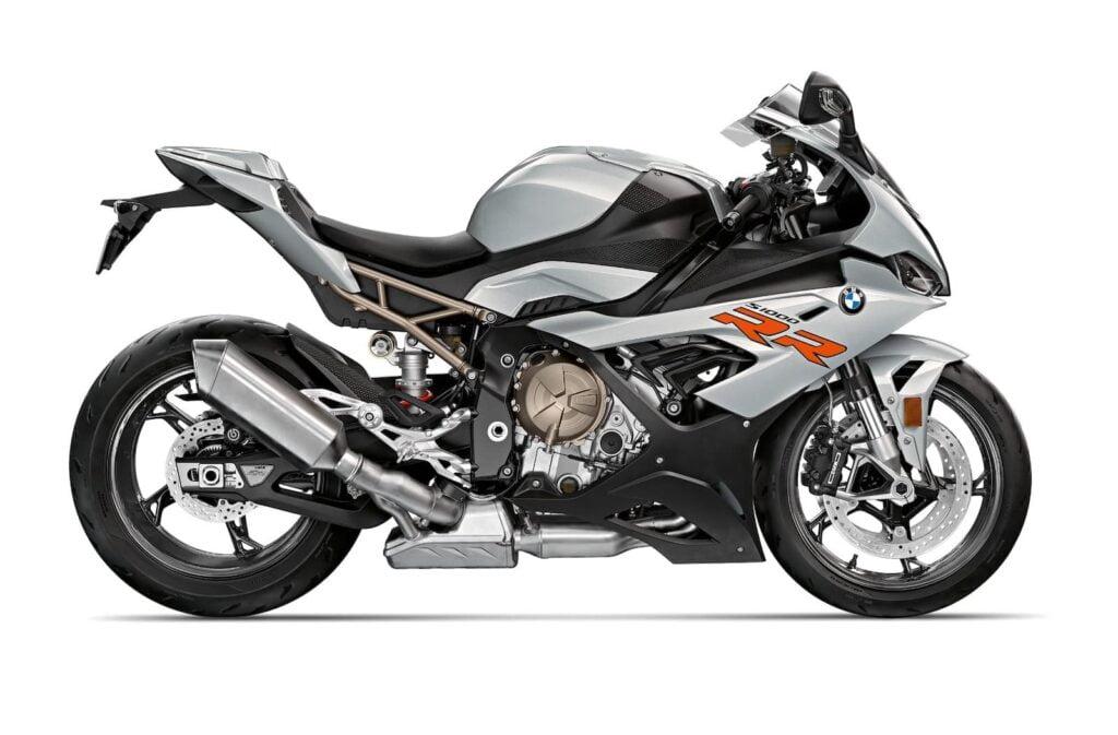 2021 BMW S 1000 RR Hockenheim silver metallic RHS