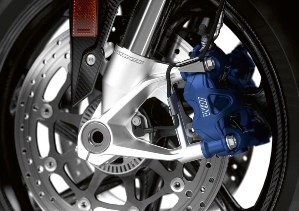 BMW M 1000 RR M Calipers and Marzocchi Forks