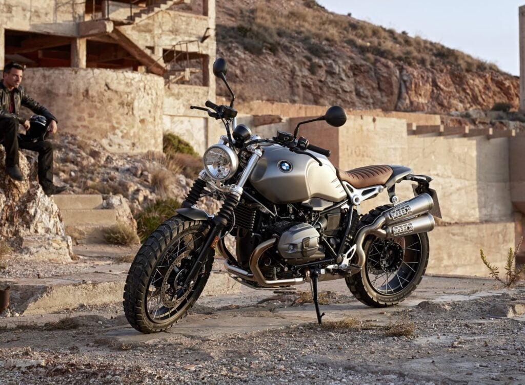 BMW R nineT Scrambler air-cooled motorcycle