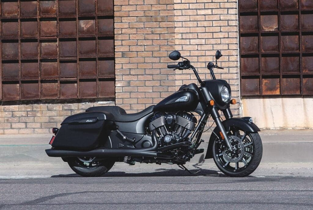 Indian Springfield Dark Horse air-cooled