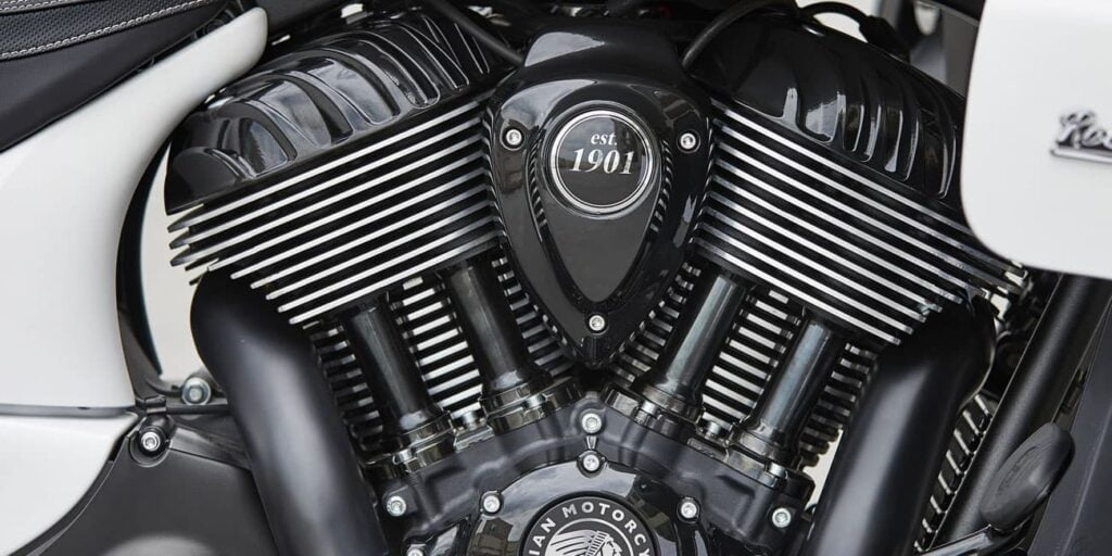 Indian Thunderstroke air-cooled engine
