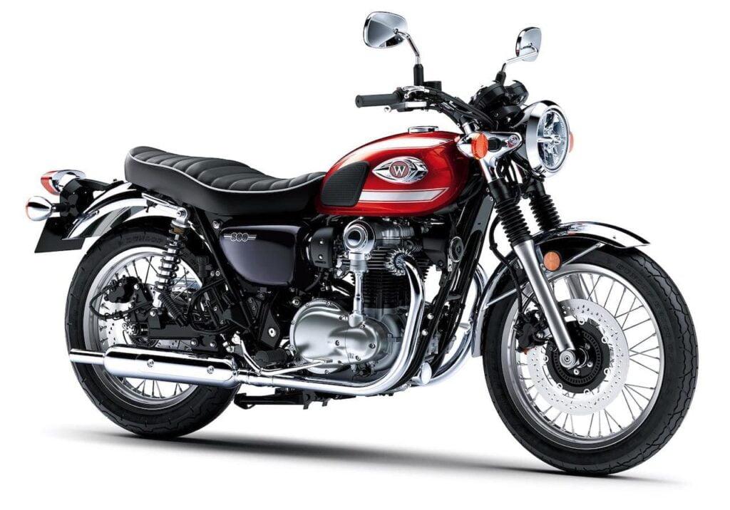 Kawasaki W800 studio photo 1