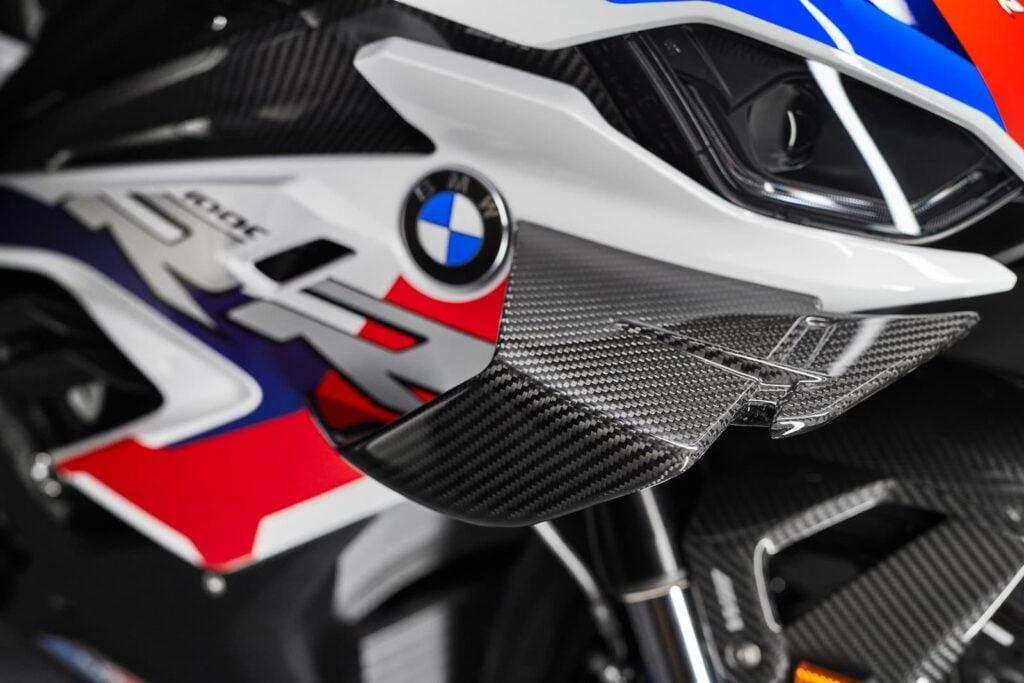 M 1000 RR carbon fiber winglets