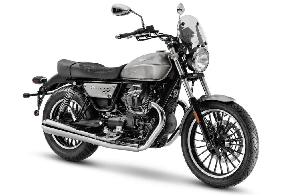 Moto Guzzi V9 air-cooled transverse V-twin