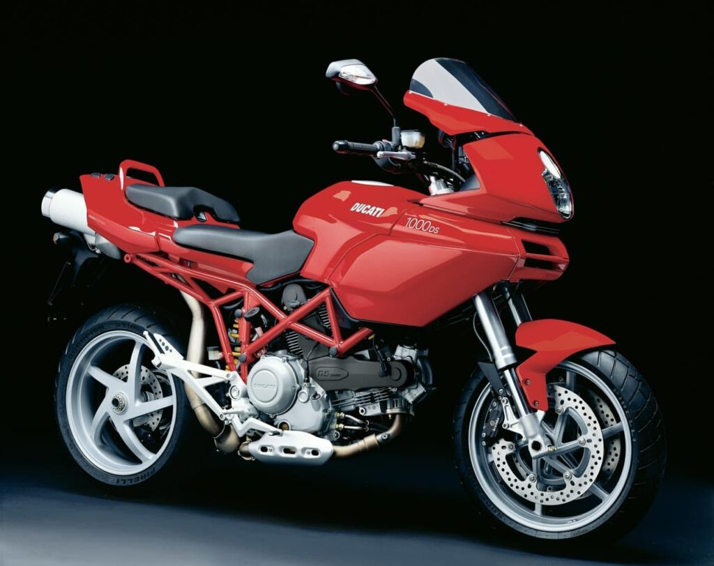 Red ducati multistrada 1000ds — Review