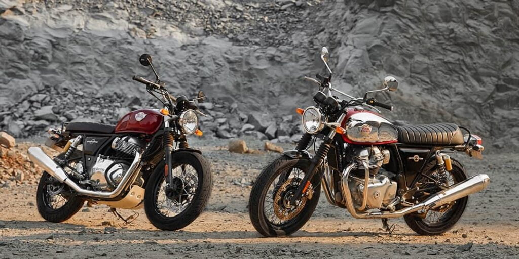Royal Enfield INT 650 Interceptor 650 air-cooled twins
